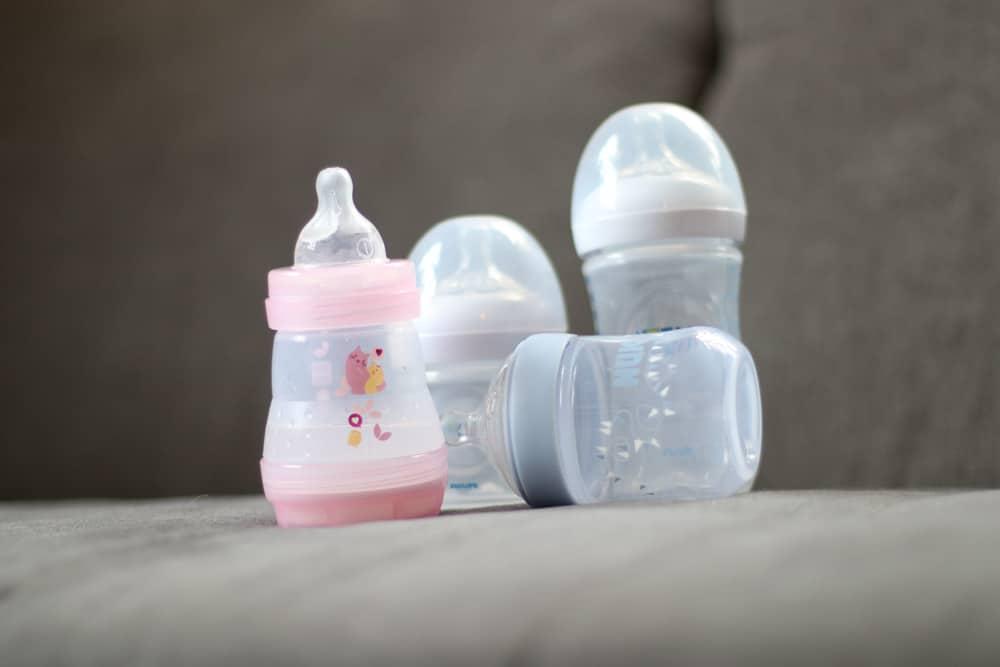 diverse Babyfläschchen