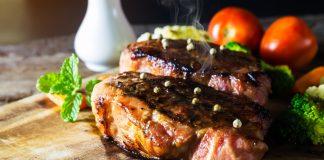 Fleisch vom Grill