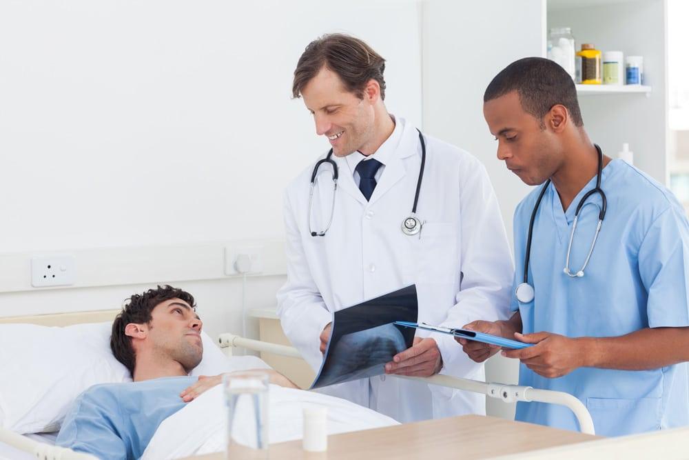 Betreuung durch den Chefarzt