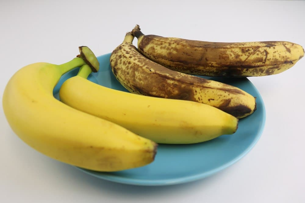 Obst richtig lagern reife Bananen