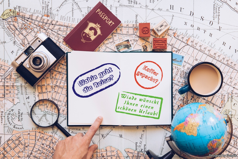 Reisepass mit Stempeln