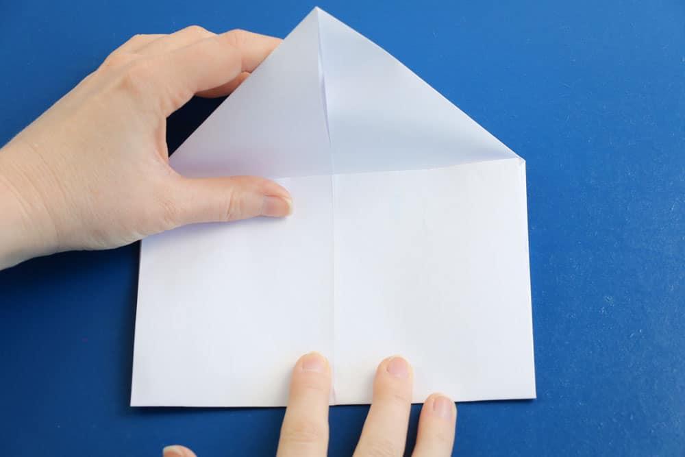 Briefumschlag falten