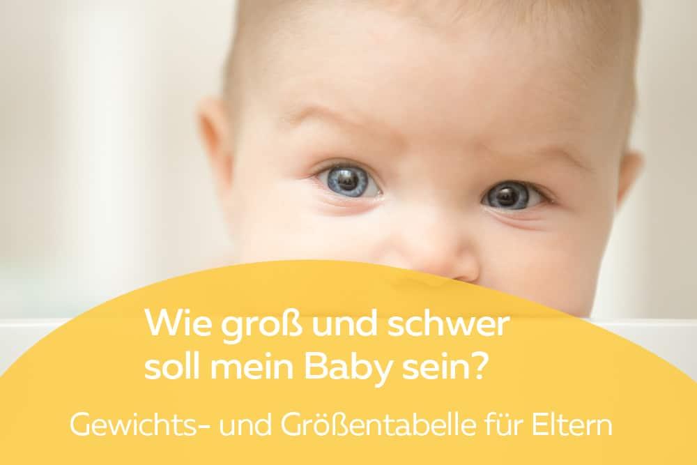 Gewichtstabellen für Babys