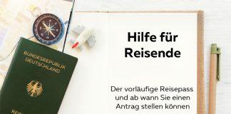 Vorläufiger Reisepass