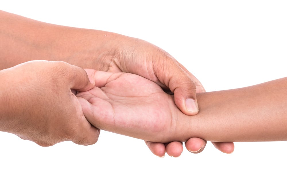 Massage Kinderarm