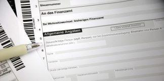 Steuerklärung Steueridentifikationsnummer