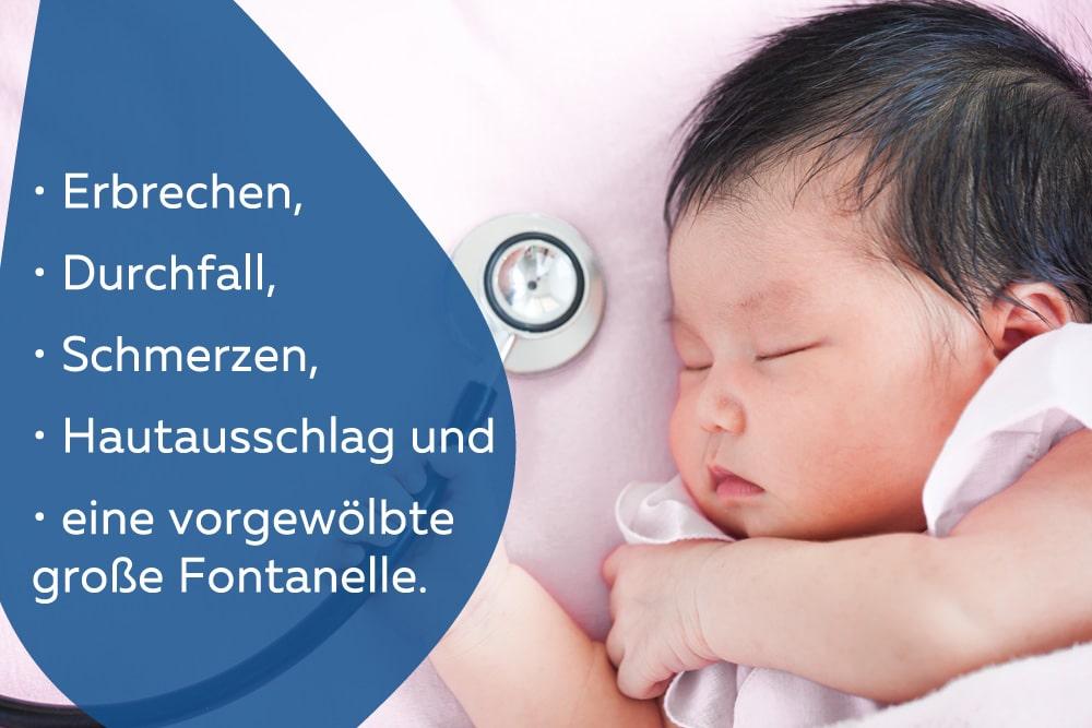 Baby mit Stethoskop