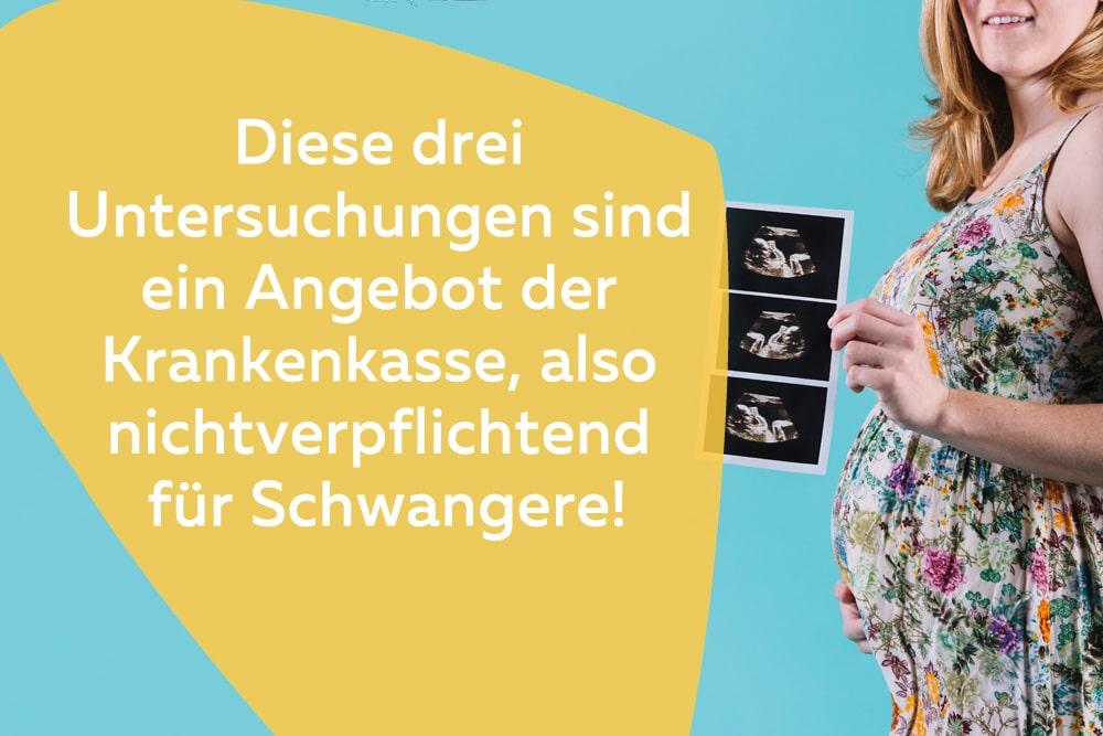 Ultraschall-Untersuchungen für Schwangere