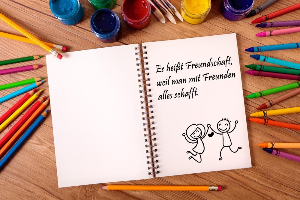 Kindergarten Freundschaftsbuch 42 Schöne Sprüche Für Jungen