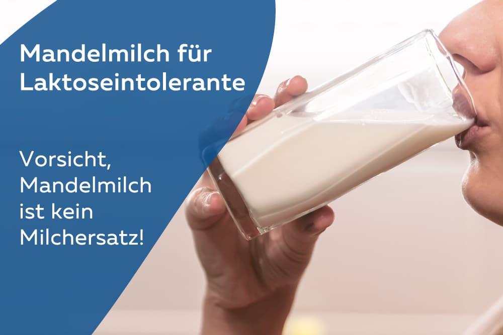 Mandelmilch für Laktoseintolerante