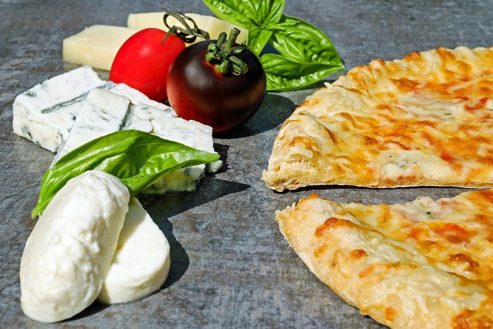 Mozzarella als Pizzabelag