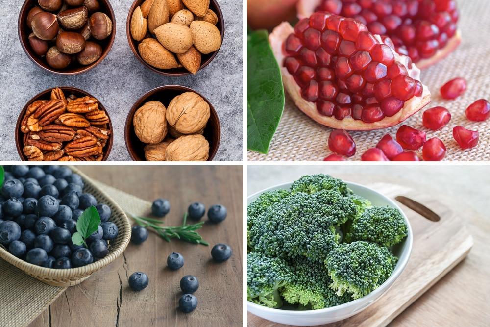 Natürliche Antioxidantien: diese 9 Lebensmittel enthalten viel