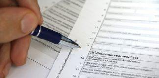 Steuerklassenwechsel