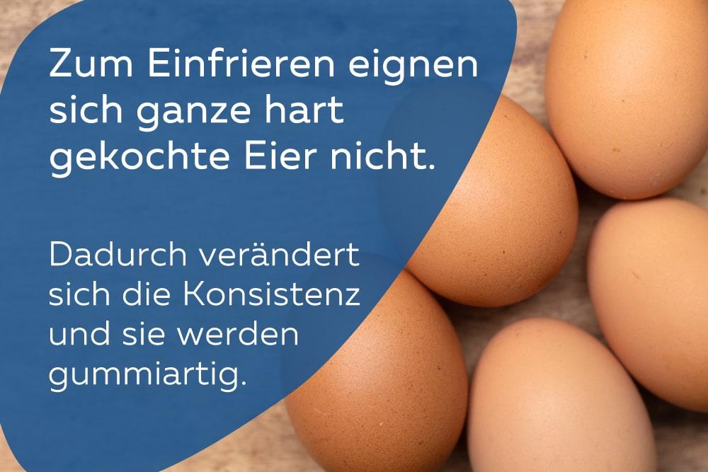 Eier haltbar