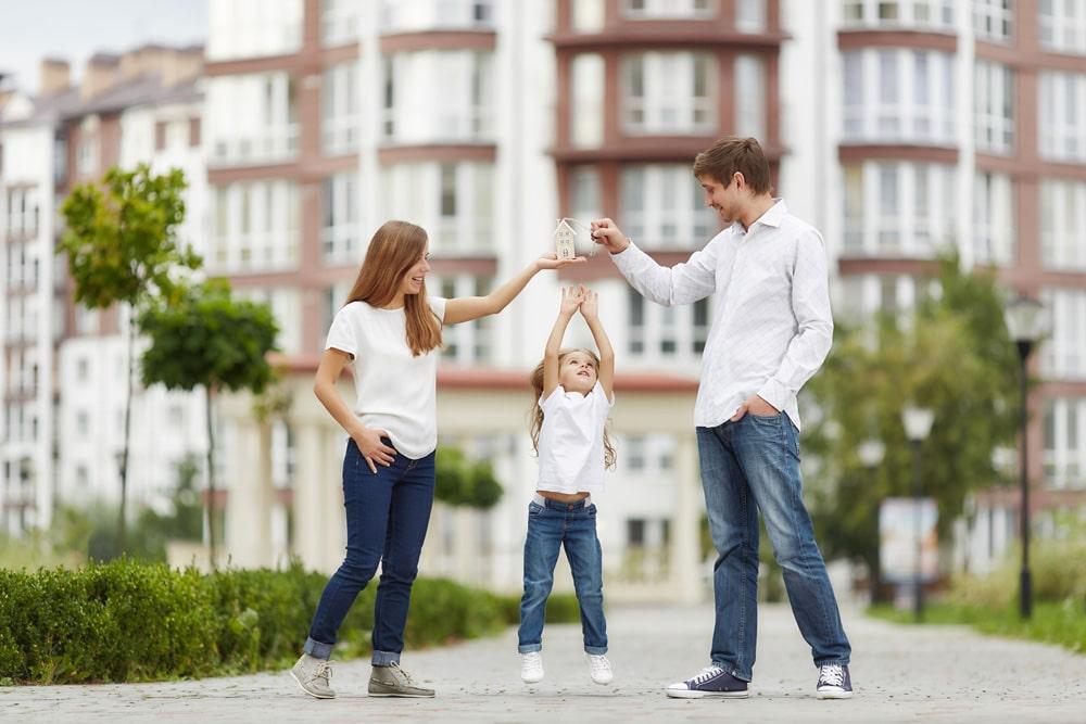 Baukindergeld Familie Wohneigentum