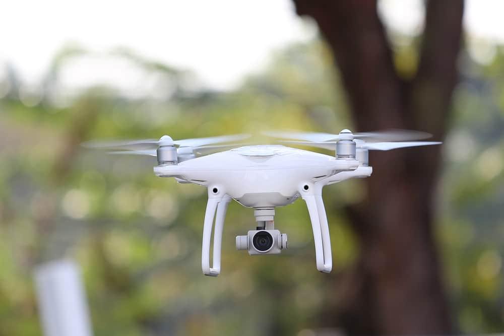 Drohnen-Haftplichtversicherung Drohne fliegend