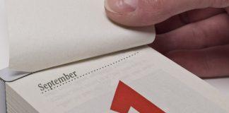 Änderungen ab September Kalenderblatt