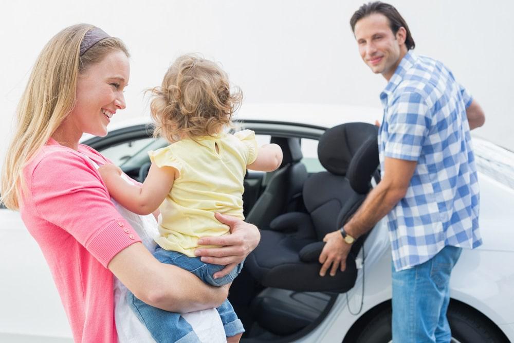 Kindersitzpflicht Modell Ausrichtung Familie