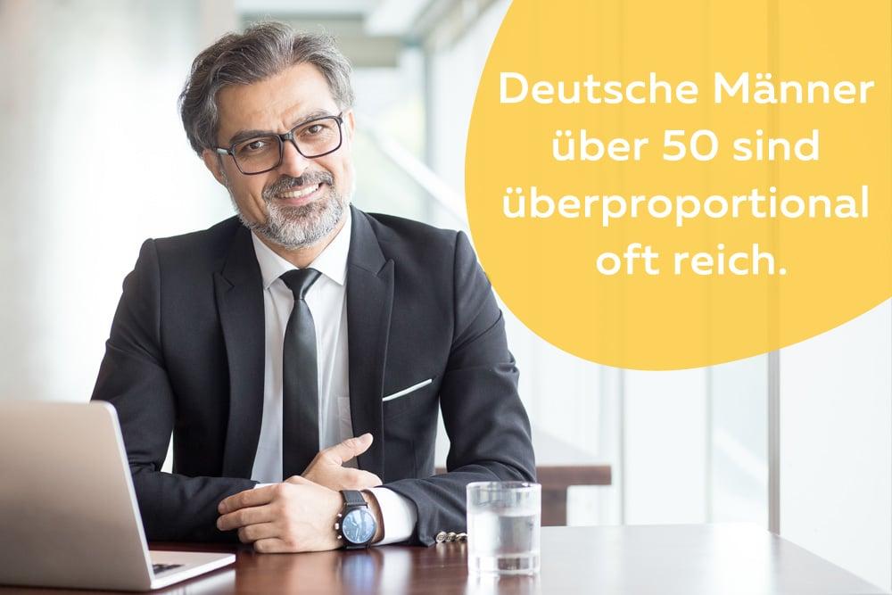 Reicher Mann über 50