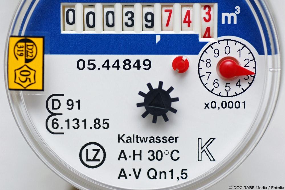 Turbo Wasseruhr ablesen: was die Zahlen auf dem Wasserzähler bedeuten UX62
