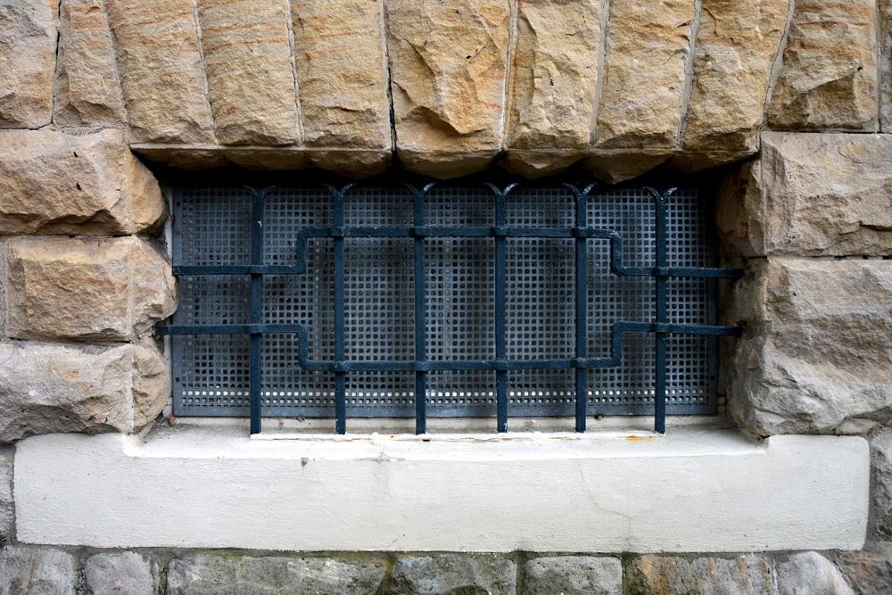 Einbruchschutz Fenster Gitter