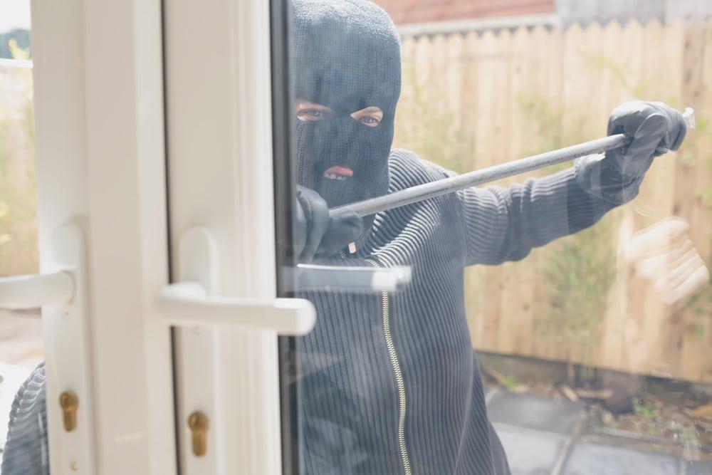 Gaunerzinken Einbrecher Tür