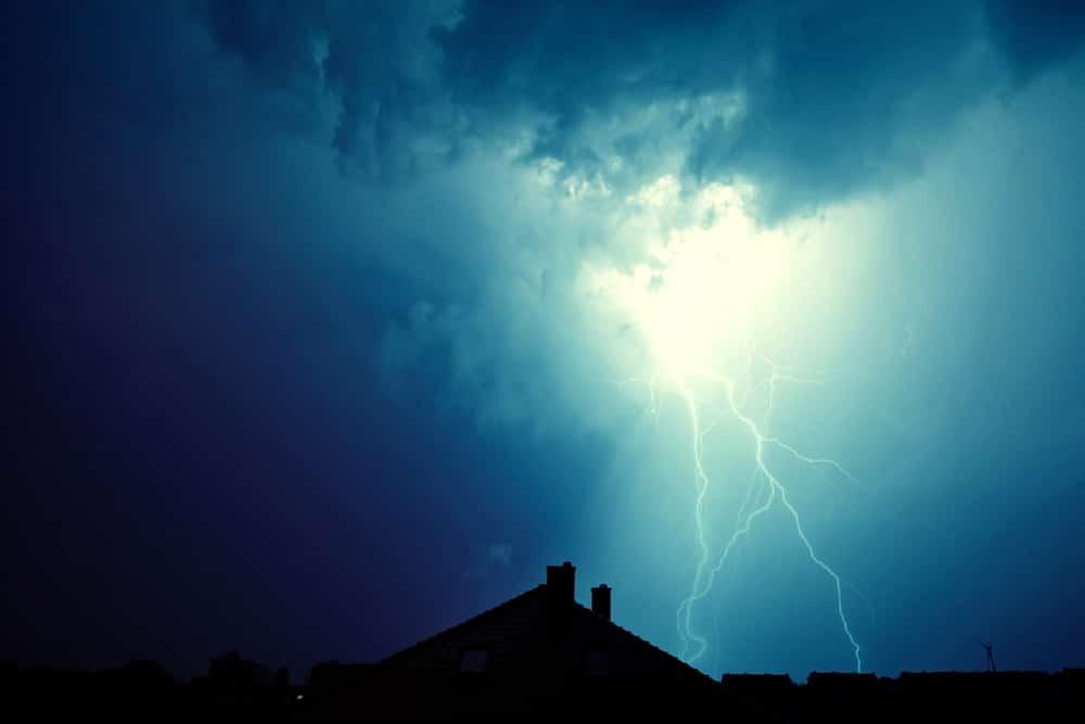 Gebäudeversicherung Blitzeinschlag