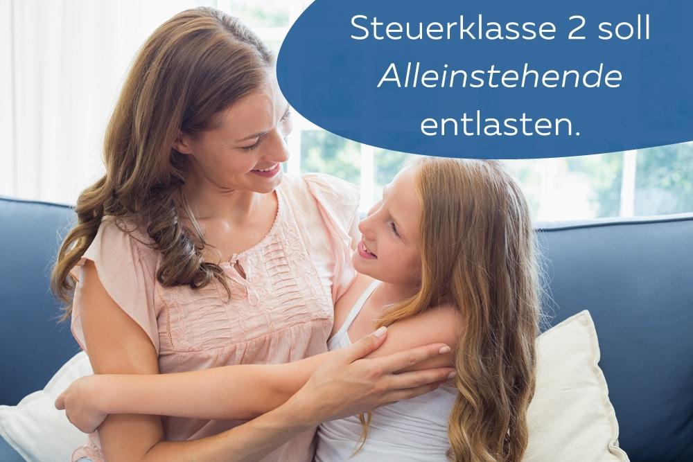 Lohnsteuerklassen Alleinerziehende Mutter Kind