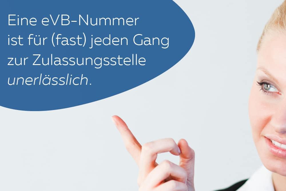 eVB-Nummer unerlässlich Behörden