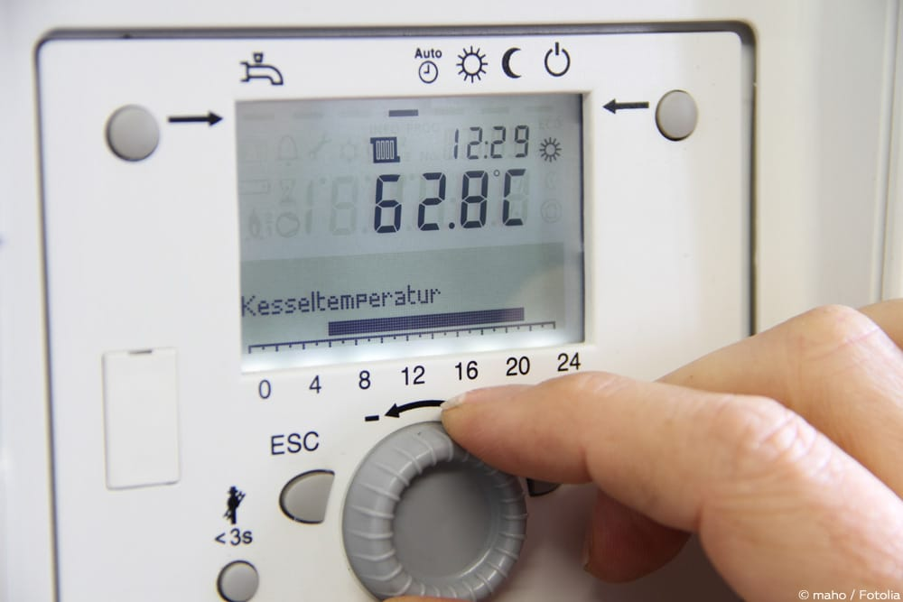 Heizung Brauchwasser Temperatur