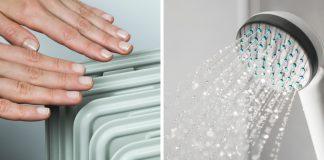 Heizung Brauchwasser Wassertemperatur