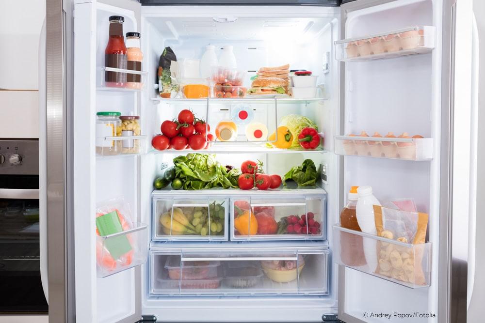 Kühlschrank gefriert überladen