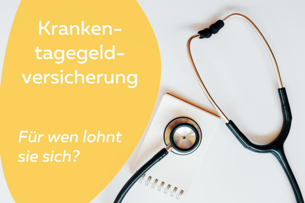 Krankentageldversicherung Stethoskop Titelbild