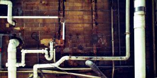 Bleirohre erkennen alte Leitungen