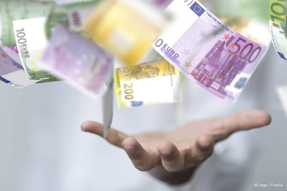 Einmalzahlung Rente Amortisierung Geldregen