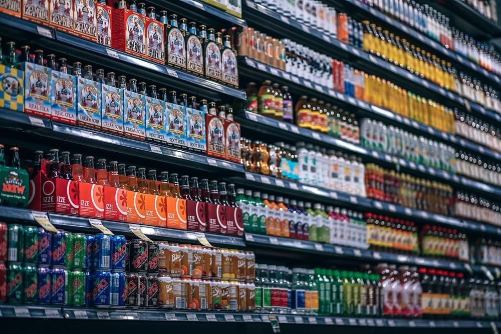 Lebensmittel Verfallsdatum Getränke Supermarkt