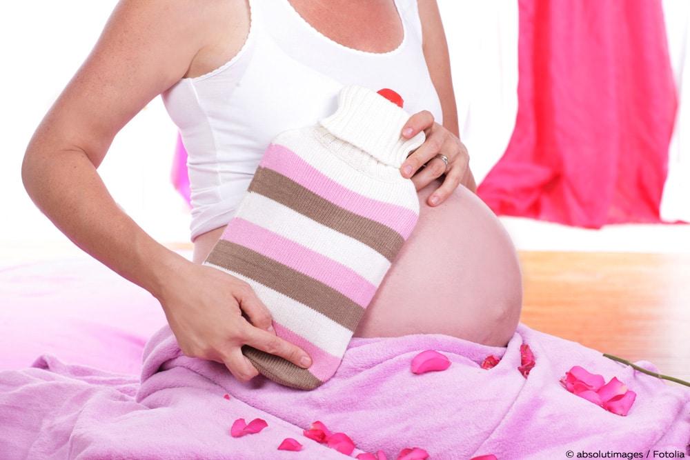 Wärmflasche Schwangerschaft