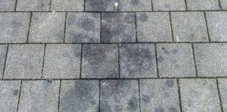 Ölflecke Pflastersteine entfernen