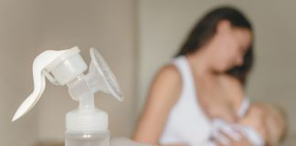 Muttermilch abpumpen