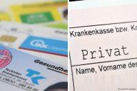 Versicherungskarten Privatrezept