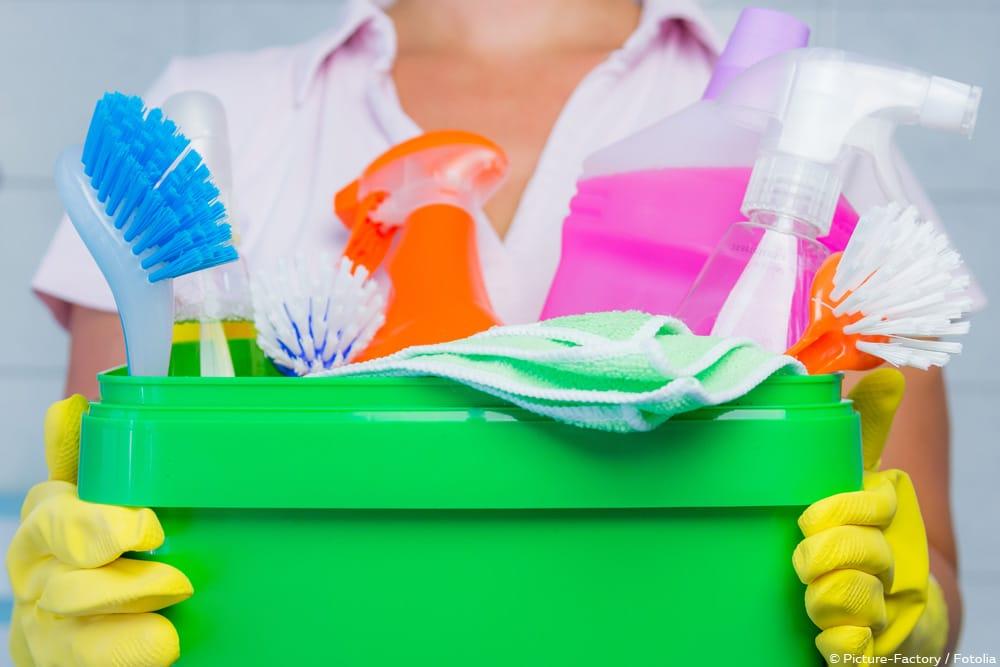 Putzplan-Vorlage Reinigungsmittel