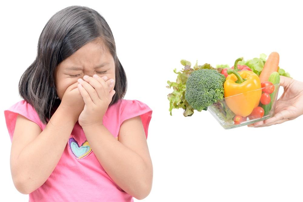 Kind verweigert essen Aphten