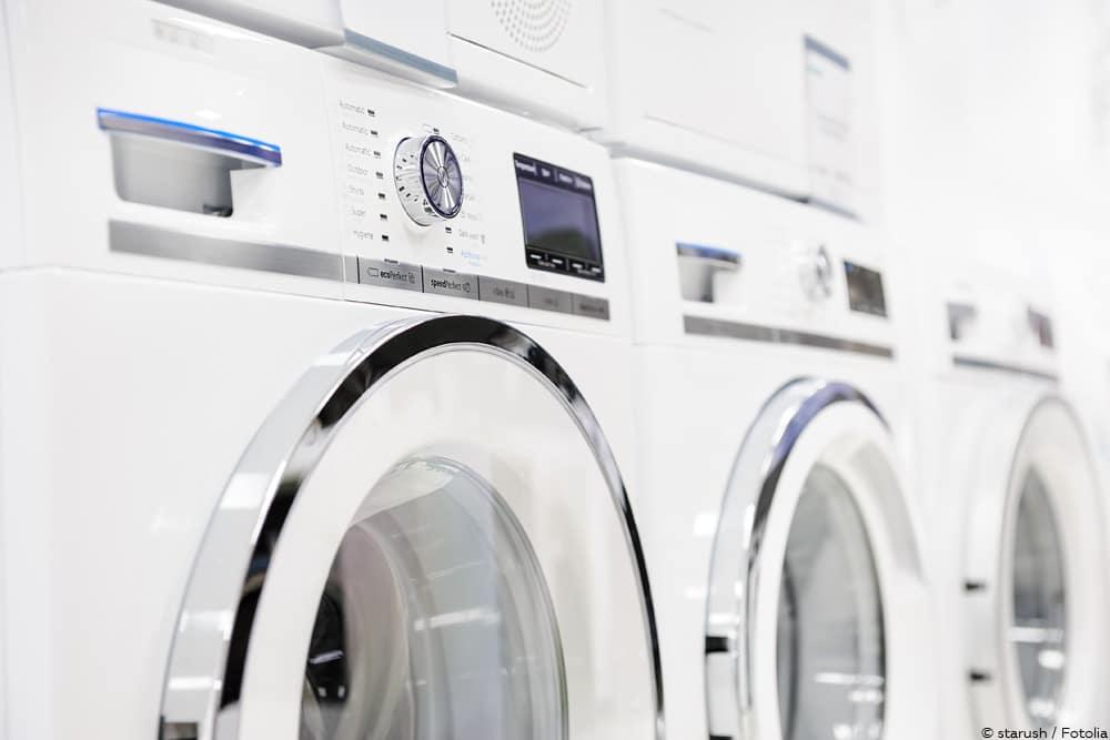 Turbo Standard-Maße von Waschmaschinen: Infografik | Breite MZ01