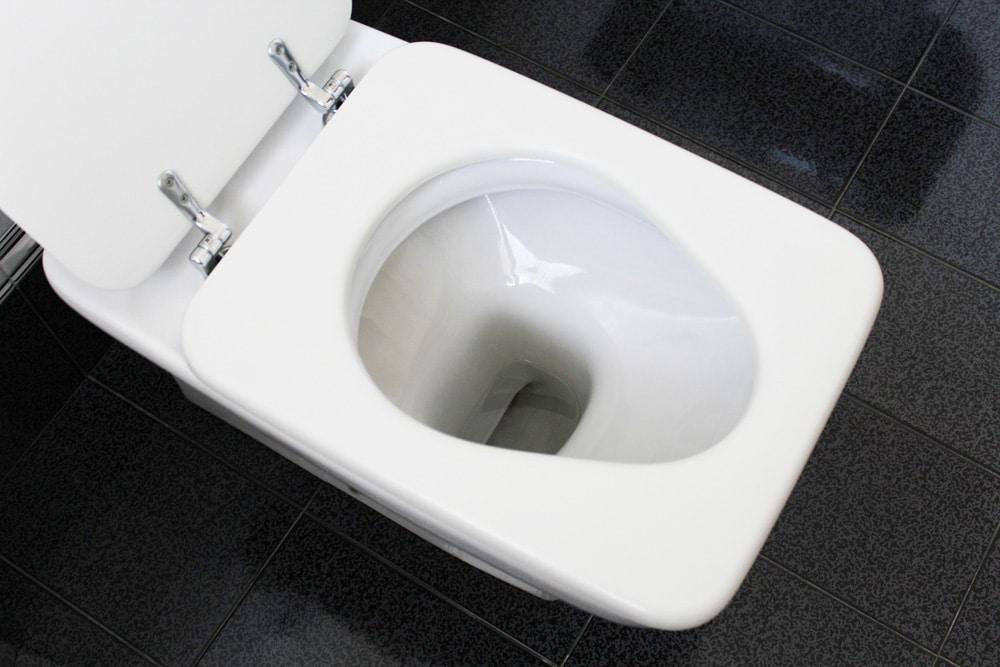 Toilette da Durchfall als Symptom