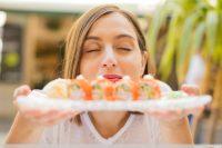 Sushi Stillzeit essen