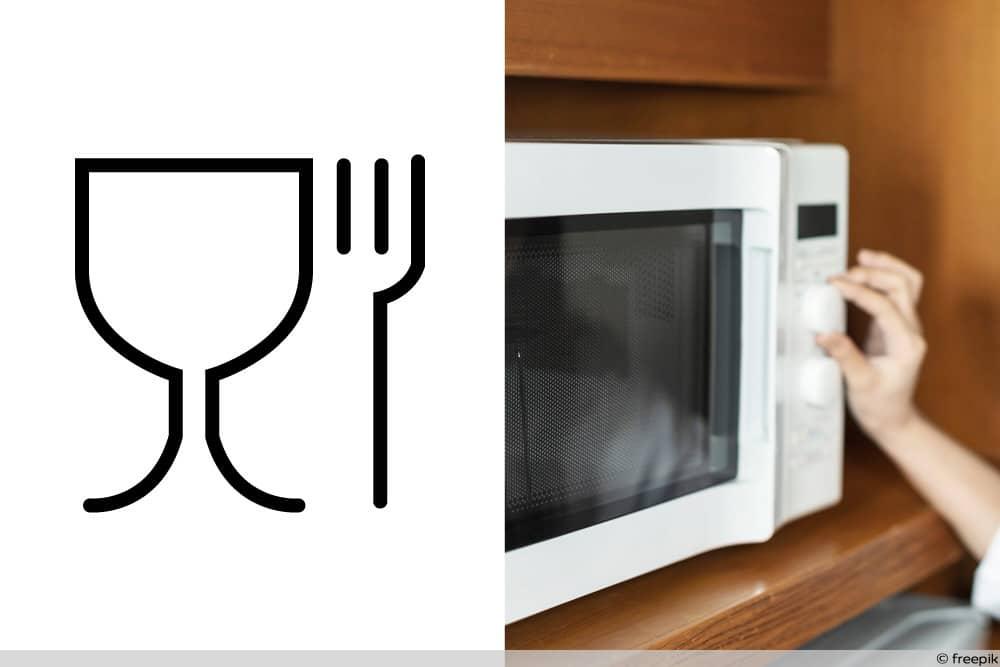 Symbol für Lebensmittelechtheit