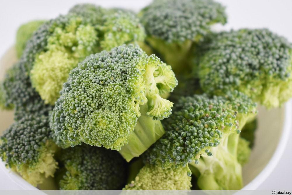 Gelbe Broccoliröschen