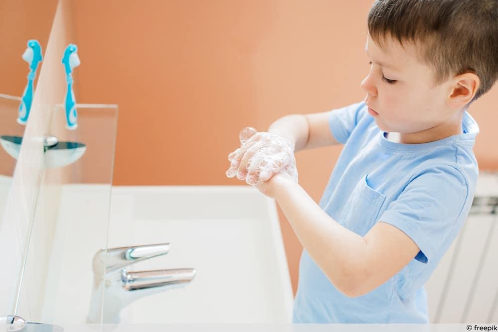 Hände waschen als Vorbeugemaßnahme
