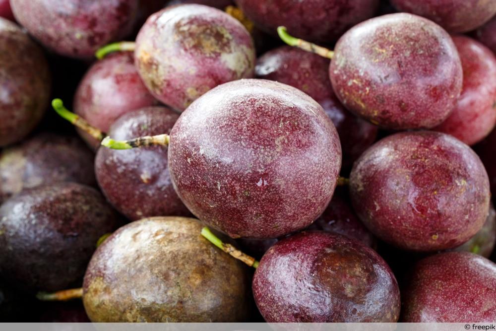Reifegrad der Passionsfrucht bestimmen