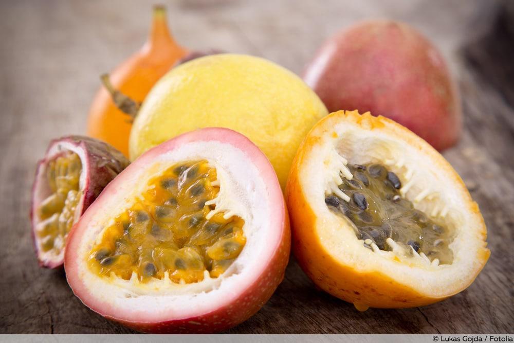 Unterschiede Passionsfrucht & Maracuja